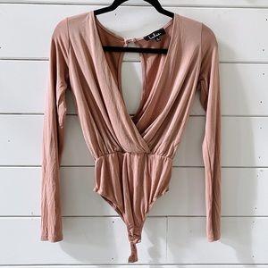 Lulus low cut bodysuit